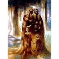 ''Family Tree'' by Kadir Nelson African American Art Print (33.5 x 25.5 in.)