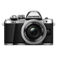 Olympus OM-D E-M10 Mark II Mirrorless Camera w/ 14-42mm Lens (Silver)