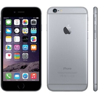 Link to Apple iPhone 6 64GB Space Gray - Unlocked - Refurbished - Space Gray Similar Items in Mobile Phones