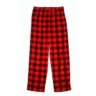 Club Room NEW Red Black Mens Size Medium M Plaid Pajama Sets Sleepwear