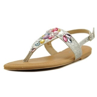 Rampage Girls Bella Open Toe Synthetic Thong Sandal