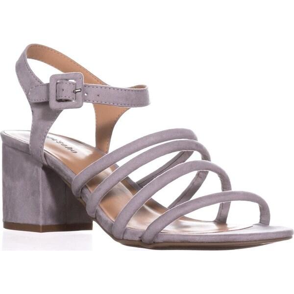ZIGI Gladys Strappy Sandals, Gray - 9 us