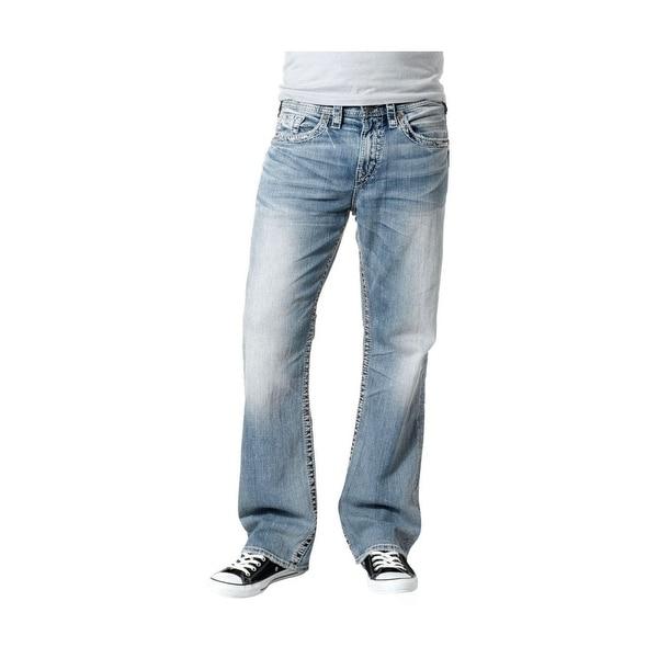 Silver Jeans Denim Mens Grayson Bootcut Light Wash