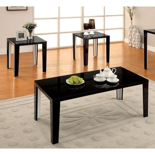 Link to Furniture of America Lesk Modern Solid Wood 3-piece Accent Table Set Similar Items in Living Room Furniture