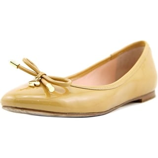 Kate Spade Willa Women Round Toe Synthetic Nude Flats