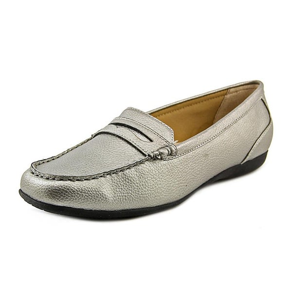 Trotters Francie Women Pewter Loafers