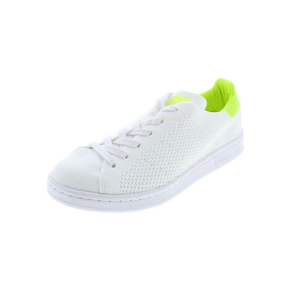 huge discount 3330c aac4c adidas Originals Womens Stan Smith Casual Shoes Knit Padded Insole