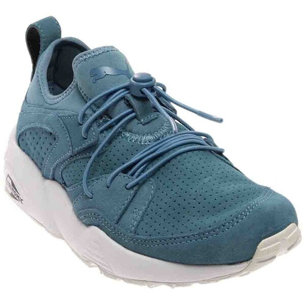 PUMA Womens Blaze of Glory Leather Low Top Lace Up Walking Shoes