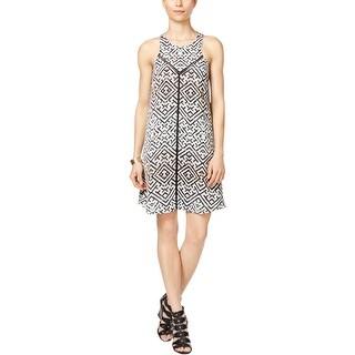 Rachel Rachel Roy Womens Casual Dress Printed Lined