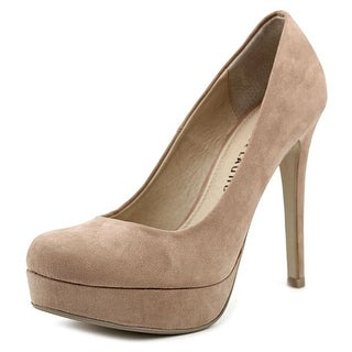 Chinese Laundry Wonder Open Toe Synthetic Platform Heel