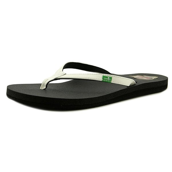 Sanuk Yoga Joy Open Toe Synthetic Flip Flop Sandal