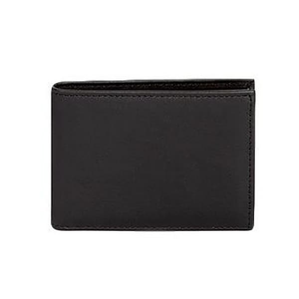Scully Western Wallet Mens Harness Ranger Leather Billfold ID - One size