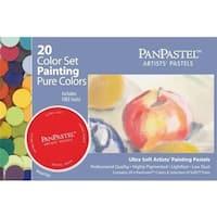 PanPastel PP30201 20-Color Ultra Soft Painting Pastels Set