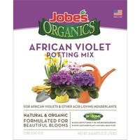 Easy Gardener 08798 Jobe's Organics African Violet Potting Mix, 8 Quart