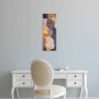 Easy Art Prints Gustav Klimt's 'Goldfish' Premium Canvas Art