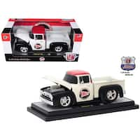 1956 Ford F-100 Pickup Truck Holley Limited Edition to 5,800 pieces Worldwide 1/24 Diecast Model Car by M2 Machines