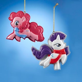 """3.25"""" My Little Pony Pinky Pie Christmas Ornament for Personalization"""