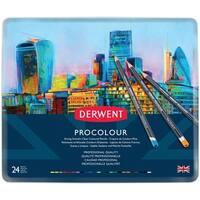 Derwent Procolour Pencils 24/Pkg-