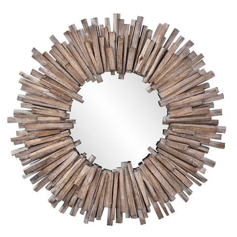 Carbon Loft Gwynn Round Wall Mirror
