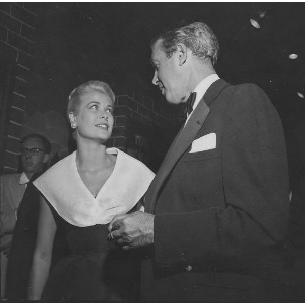 2dd52411a7 Grace Kelly and James Stewart Photo Print
