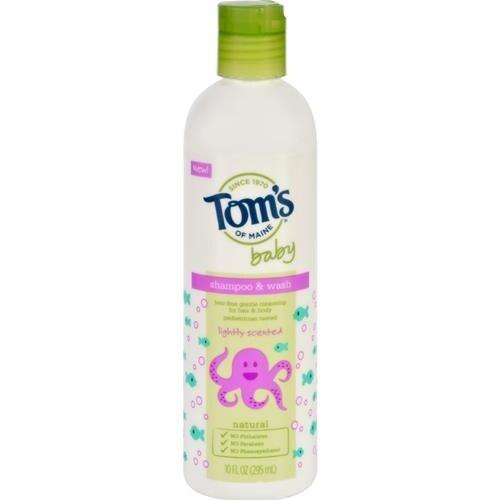 Tom's of Maine - Baby Shampoo And Body Wash - Light Scent ( 1 - 10 FZ)