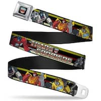 Transformers Autobot Logo Full Color Black Blue Red Fade Transformers 5 Seatbelt Belt