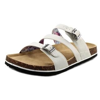 Azura AZURA Open Toe Leather Slides Sandal
