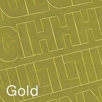 """Permanent Adhesive Vinyl Letters & Numbers 2"""" 167/Pkg-Gold"""