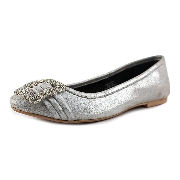 29 Porter Rd Noelle Shimmer Ballet Slipper Round Toe Leather Ballet Flats