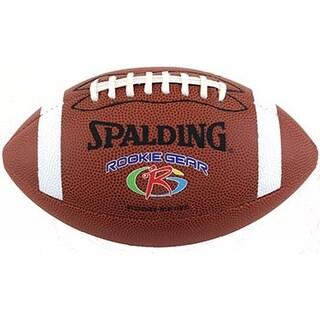 Spalding Rookie Gear Pee Wee Composite Football - Brown