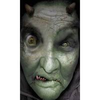 """Spooky Scene Window Shadows Decor """"Evil Witch"""""""