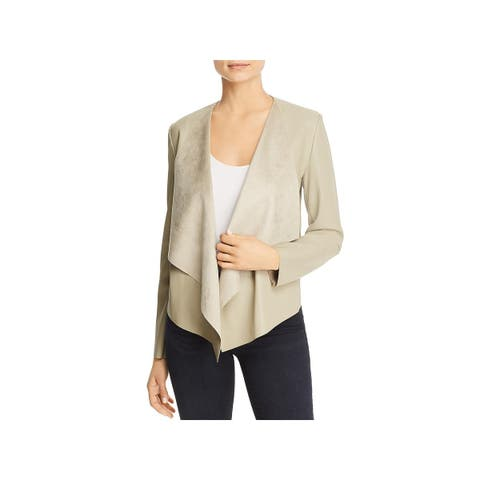 Bagatelle Womens Double Face Coat Spring Faux Leather