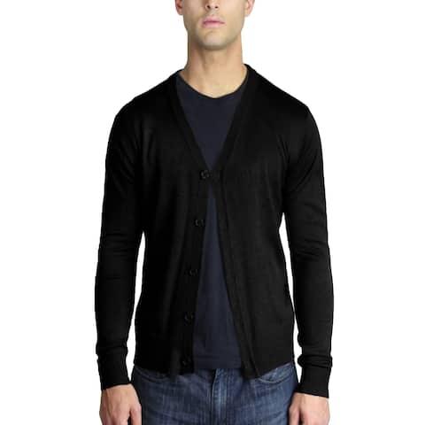 Men's Classic Cardigan Sweater (SW-249)