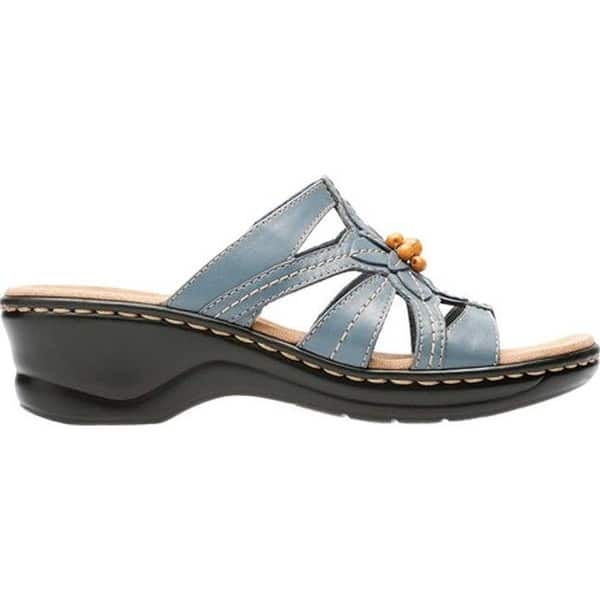 c68610cc Shop Clarks Women's Lexi Myrtle Blue/Grey Leather - Free Shipping ...