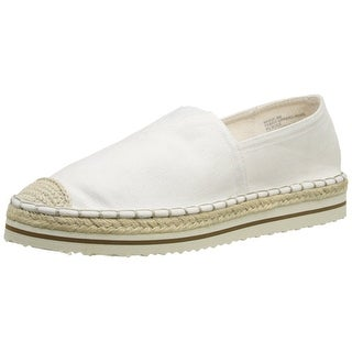 Madden Girl Womens MAUUI Canvas Loafers