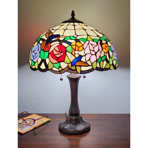 Copper Grove Ghaydah 23-inch Tiffany-style Table Lamp