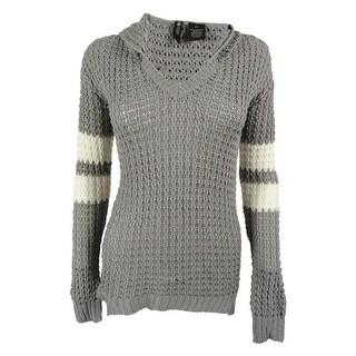 Ultra Flirt Juniors' Hoodie Tunic Sweater