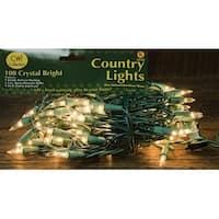 Light Set, Green Cord, 100ct