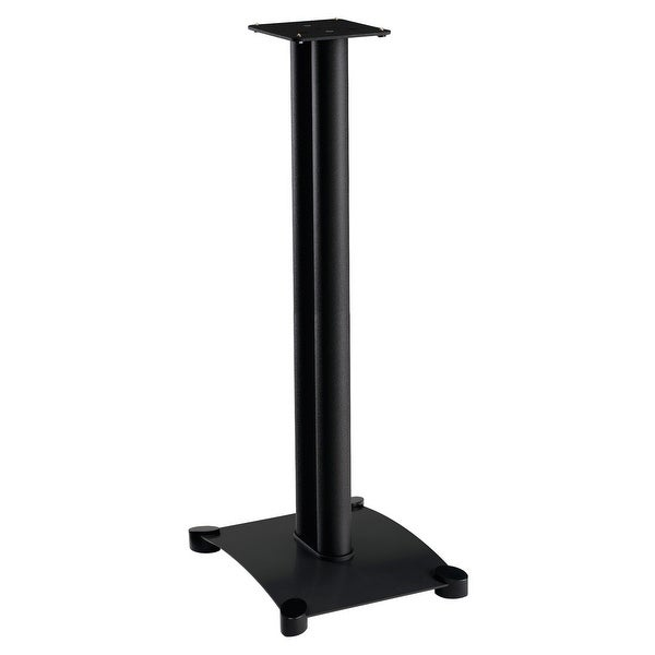 "Sanus SF34 Steel Series 34"" Speaker Stands for Bookshelf Speakers - Pair (Black)"