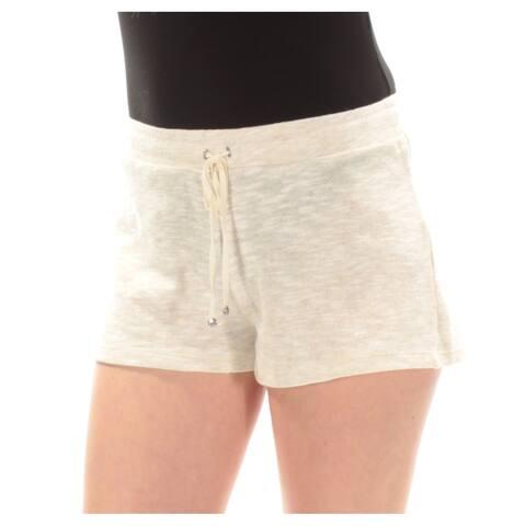 MAX STUDIO Womens Beige Straight leg Short Size: M