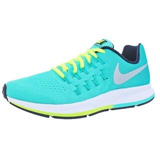 Nike Girls Zoom Pegasus 33 Running Shoes Big Kid Training
