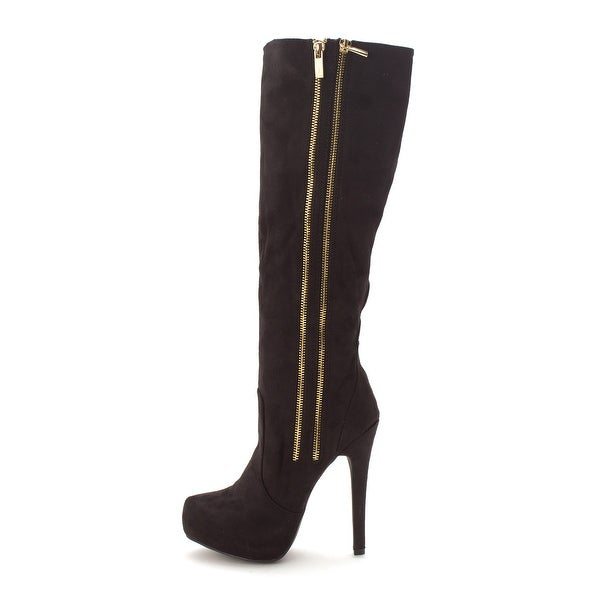 Just Fab Womens donatelle Closed Toe Mid-Calf Fashion Boots - 7