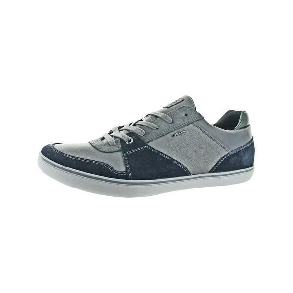 b87373900c Geox Mens Box 26 Fashion Sneakers Mixed Media Colorblock - 12.5 medium (d)