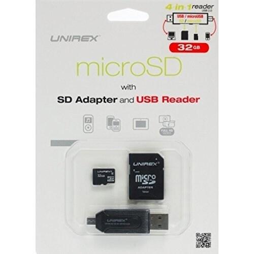 Unirex MSW-325M 4-in-1 Usb/Micro