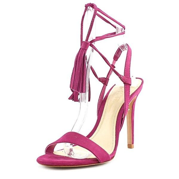 Schutz Maggie Women Open Toe Leather Pink Sandals
