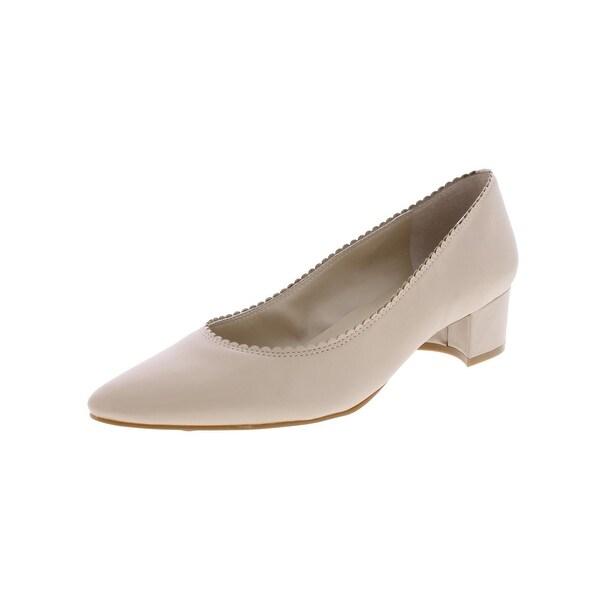 Lauren Ralph Lauren Womens Hattie Block Heels Pointed Toe Dress - 6.5 medium (b,m)