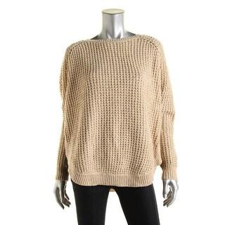 LRL Lauren Jeans Co. Womens Knit Circle Hem Sweater - L