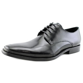 Kenneth Cole Reaction Text Me Men  Round Toe Leather Black Oxford