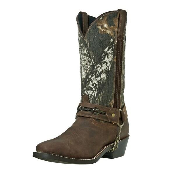 536fb496c13451 Shop Laredo Western Boots Mens Gadsden Camo Harness Sq Toe Mossy Oak ...
