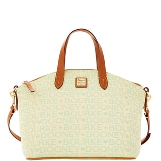 Dooney & Bourke Tapestry Satchel (Introduced by Dooney & Bourke at $228 in Dec 2015) - Mint